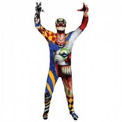 Disfraz de El Payaso Monster Collection Morphsuits infantil - Imagen 1