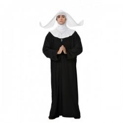 Disfraz de monja para hombre - Imagen 1