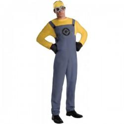 Disfraz de Minion Dave Gru mi villano favorito para hombre - Imagen 1