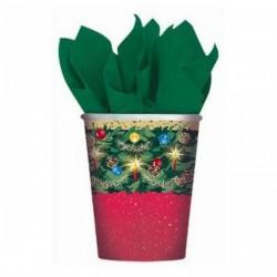 Set de 8 vasos Árbol de Navidad - Imagen 1