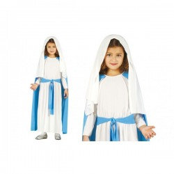 Disfraz de la Virgen María para niña - Imagen 1