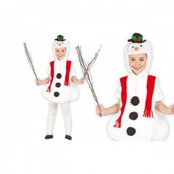 Disfraz de muñeco de nieve feliz - Imagen 1