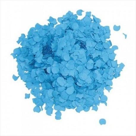 Bolsa de confetti azul 5 kilos - Imagen 1