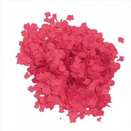 Bolsa de confetti rojo 10 kilos - Imagen 1