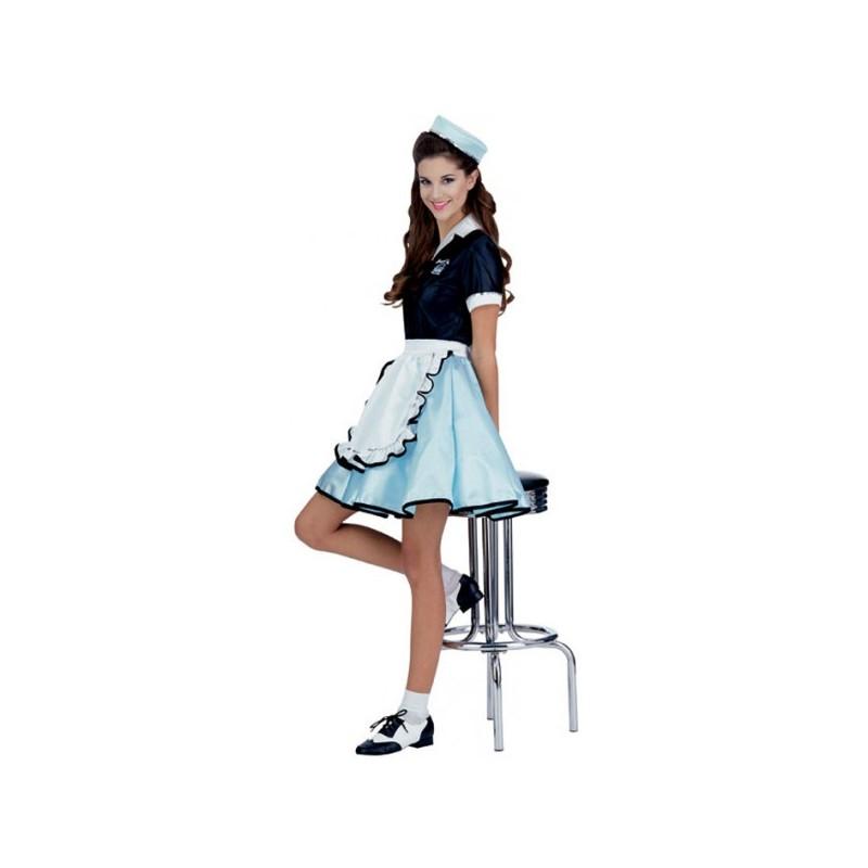 Disfraz de camarera a os 50 comprar online - Zapatos camarera antideslizantes ...