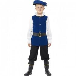 Disfraz de príncipe Tudor para niño - Imagen 1