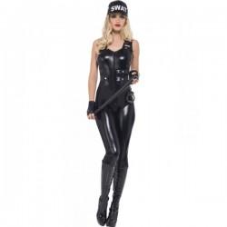 Disfraz de policía SWAT Fever para mujer - Imagen 1