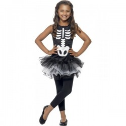 Disfraz de esqueleto tutú para niña - Imagen 1