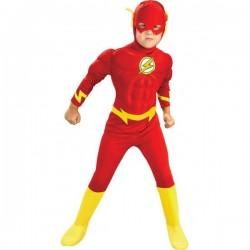 Disfraz de Flash musculoso para niño - Imagen 1