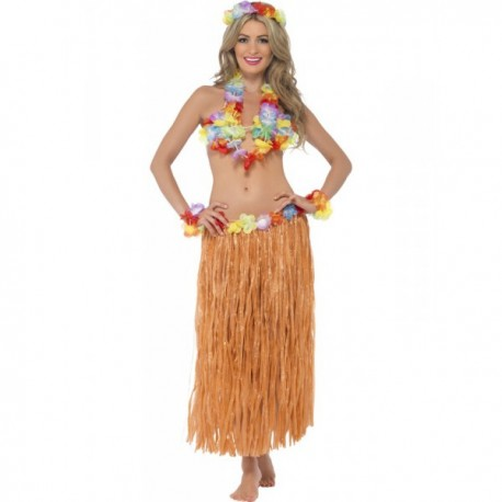 Disfraz de hawaiana Hula para mujer - Imagen 1