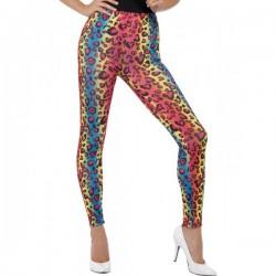 Leggings leopardo de colores para mujer - Imagen 1