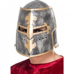 Casco medieval Crusader para adulto - Imagen 1