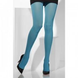 Pantys azules opacas - Imagen 1