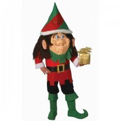Disfraz de elfo cabezón - Imagen 1