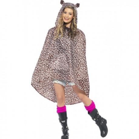 Party Poncho Leopardo - Imagen 1