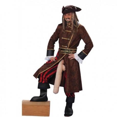 Disfraz de pirata larga pata - Imagen 1