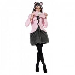 Kit abrigo y bufanda de ratita presumida winter - Imagen 1