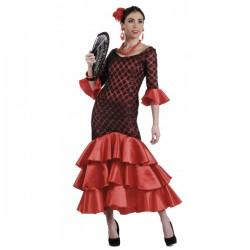Disfraz de sevillana flamenca - Imagen 1