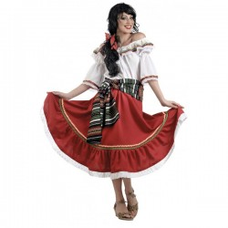 Disfraz de mexicana tradicional - Imagen 1