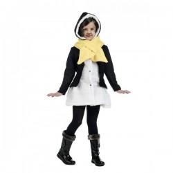 Kit abrigo y bufanda de pingüino del deshielo winter para niña - Imagen 1