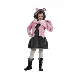 Kit abrigo y bufanda de ratita presumida winter para niña - Imagen 1