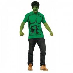 Kit disfraz de Hulk para hombre - Imagen 1