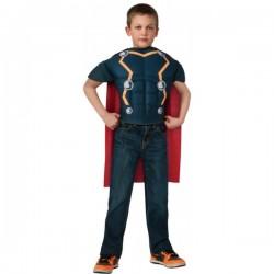 Kit disfraz Thor musculoso para niño - Imagen 1