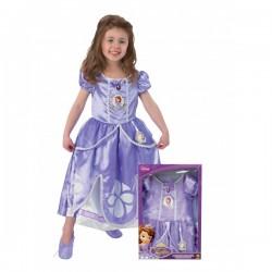 Disfraz de Princesa Sofia para niña en caja - Imagen 1