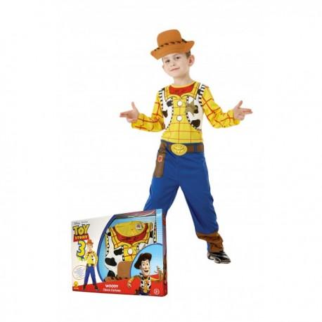 Disfraz de Woody Toy Story para niño en caja - Imagen 1