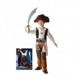 Disfraz de Jack Sparrow para niño en caja - Imagen 1