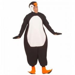 Disfraz de pingüino del ártico para adulto - Imagen 1