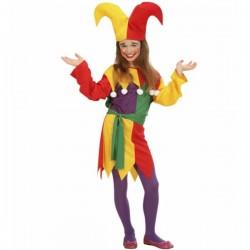 Disfraz de bufón para niña - Imagen 1