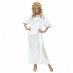 Disfraz de toga romana unisex - Imagen 1