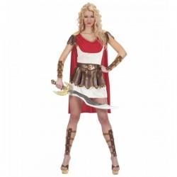 Disfraz de romana guerrera para mujer - Imagen 1