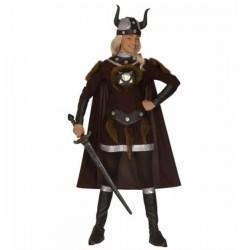 Disfraz de guerrera vikinga para mujer - Imagen 1