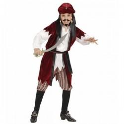 Disfraz de pirata Sparrow para niño - Imagen 1