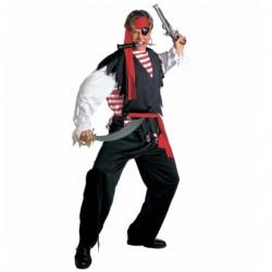 Disfraz de pirata de aguas bravas para hombre - Imagen 1