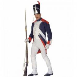 Disfraz de soldado de Napoleón para hombre - Imagen 1