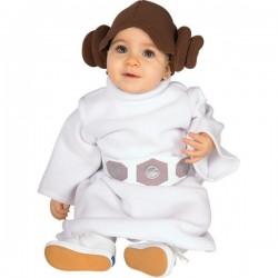 Disfraz de Princesa Leia para bebé - Imagen 1