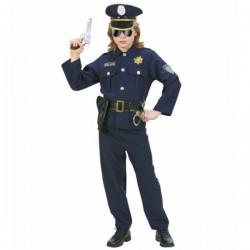 Disfraz de oficial de policía para niño - Imagen 1