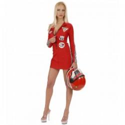 Disfraz de piloto sexy grand prix - Imagen 1