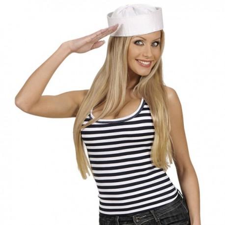 Camiseta marinera de tirantes - Imagen 1