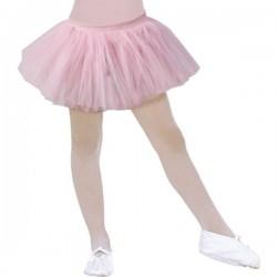 Tutú de bailarina rosa para niña - Imagen 1