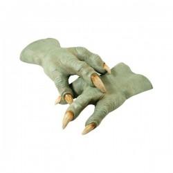 Manos látex de Yoda - Imagen 1