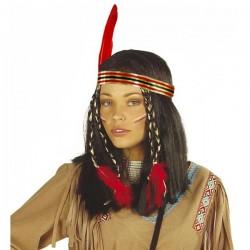 Peluca de india cheyenne - Imagen 1