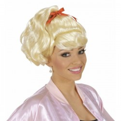 Peluca greaser Pink Lady años 50 - Imagen 1