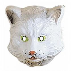 Careta de gato infantil de plástico - Imagen 1