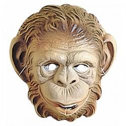 Careta de mono infantil de plástico - Imagen 1