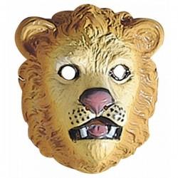 Careta de león infantil de plástico - Imagen 1