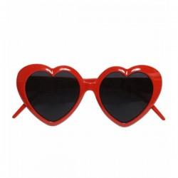 Gafas de corazón rojas - Imagen 1